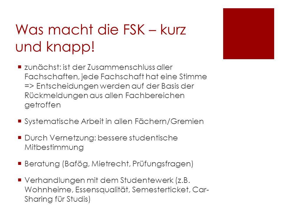 Was macht die FSK – kurz und knapp.