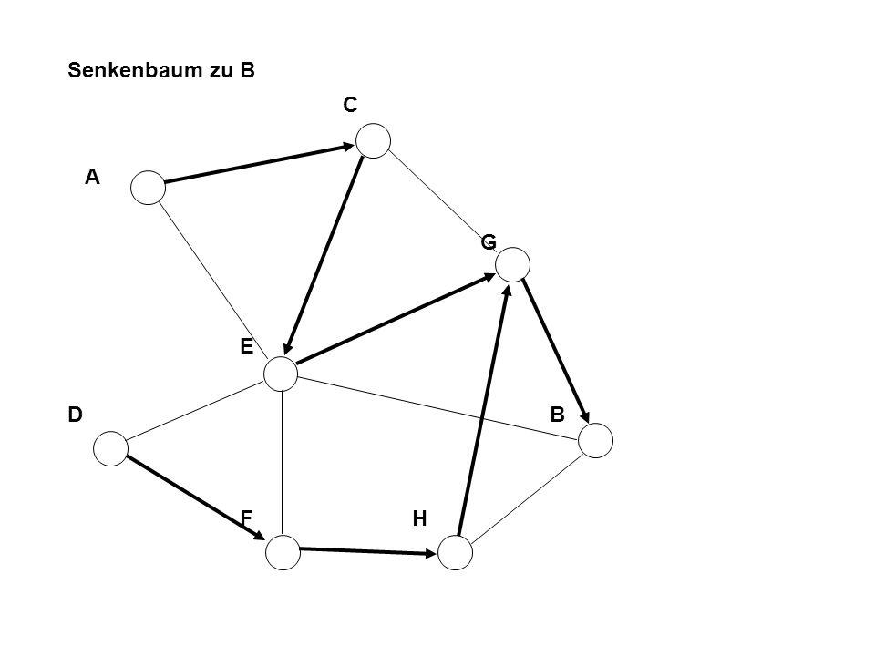 A B F D C E H G Senkenbaum zu B