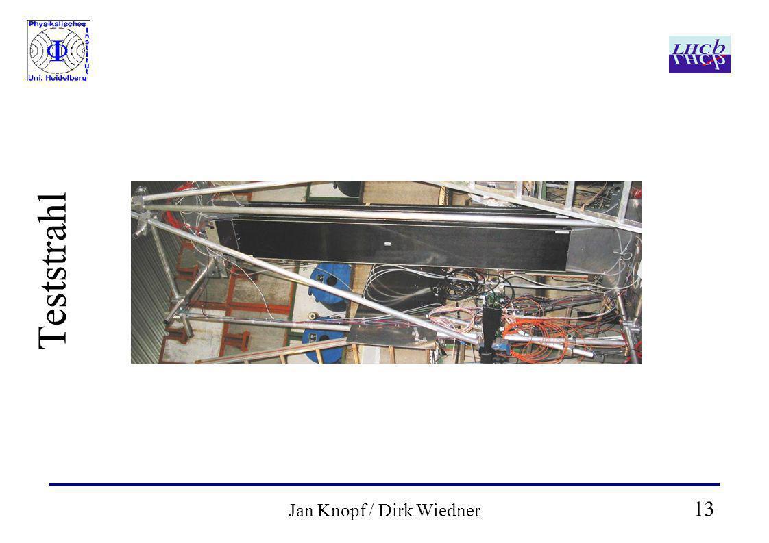 13 Jan Knopf / Dirk Wiedner Teststrahl