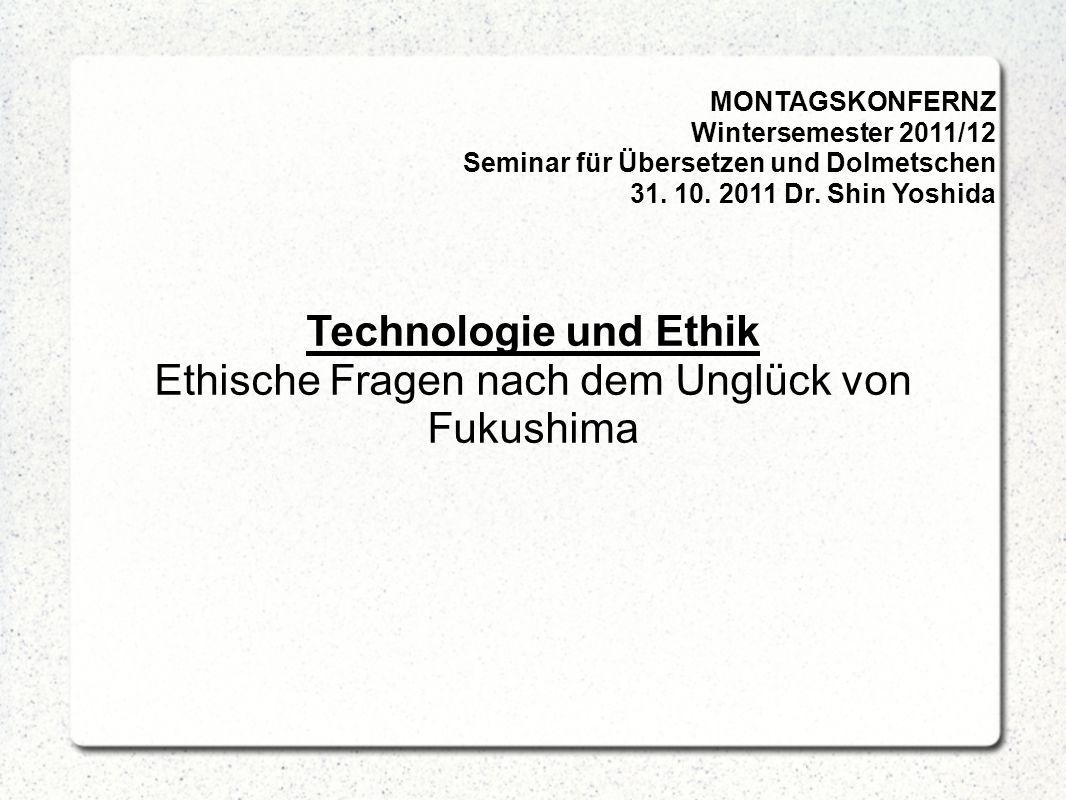4. Wissenschaftstechnologie und Ethik