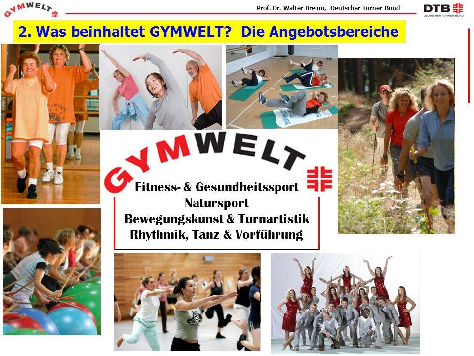 Prof.Dr. Walter Brehm, Deutscher Turner-Bund 2. Was beinhaltet GYMWELT.