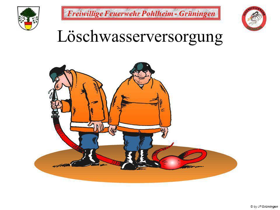 Freiwillige Feuerwehr Pohlheim - Grüningen © by JFGrüningen Löschwasserversorgung