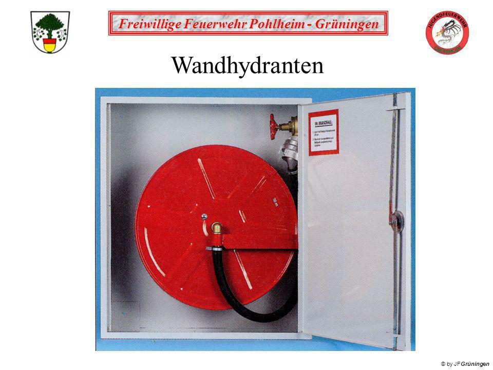 Freiwillige Feuerwehr Pohlheim - Grüningen © by JFGrüningen Wandhydranten