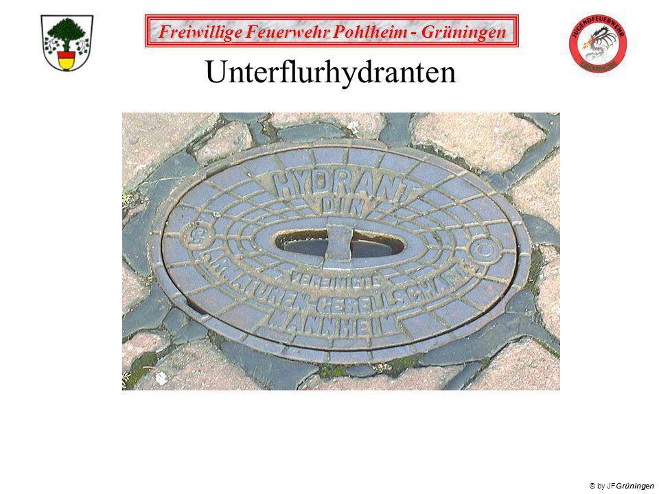 Freiwillige Feuerwehr Pohlheim - Grüningen © by JFGrüningen Unterflurhydranten