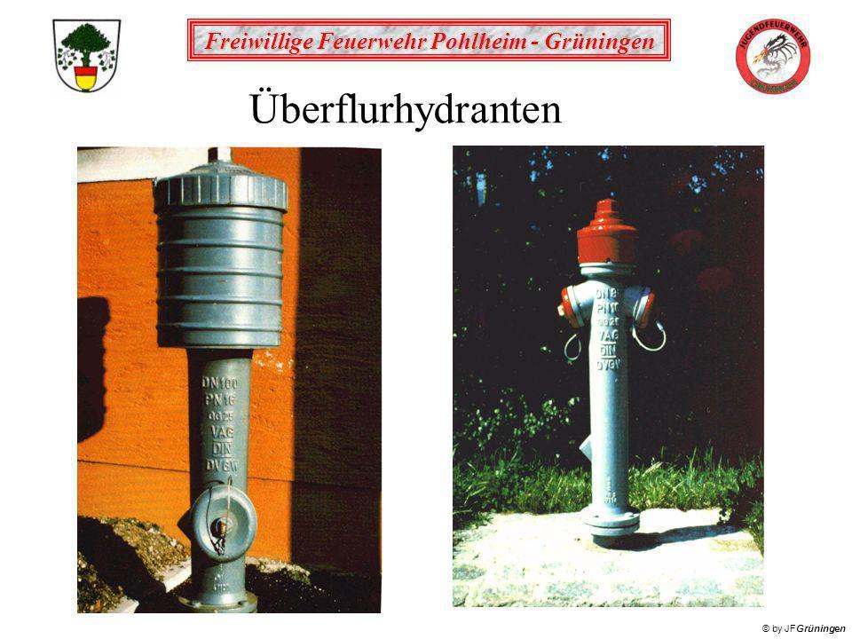Freiwillige Feuerwehr Pohlheim - Grüningen © by JFGrüningen Überflurhydranten