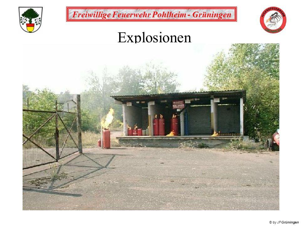 Freiwillige Feuerwehr Pohlheim - Grüningen © by JFGrüningen Explosionen