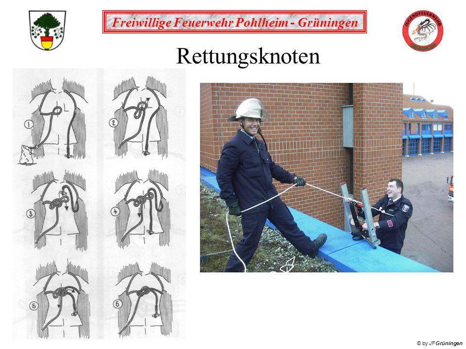 Freiwillige Feuerwehr Pohlheim - Grüningen © by JFGrüningen Rettungsknoten