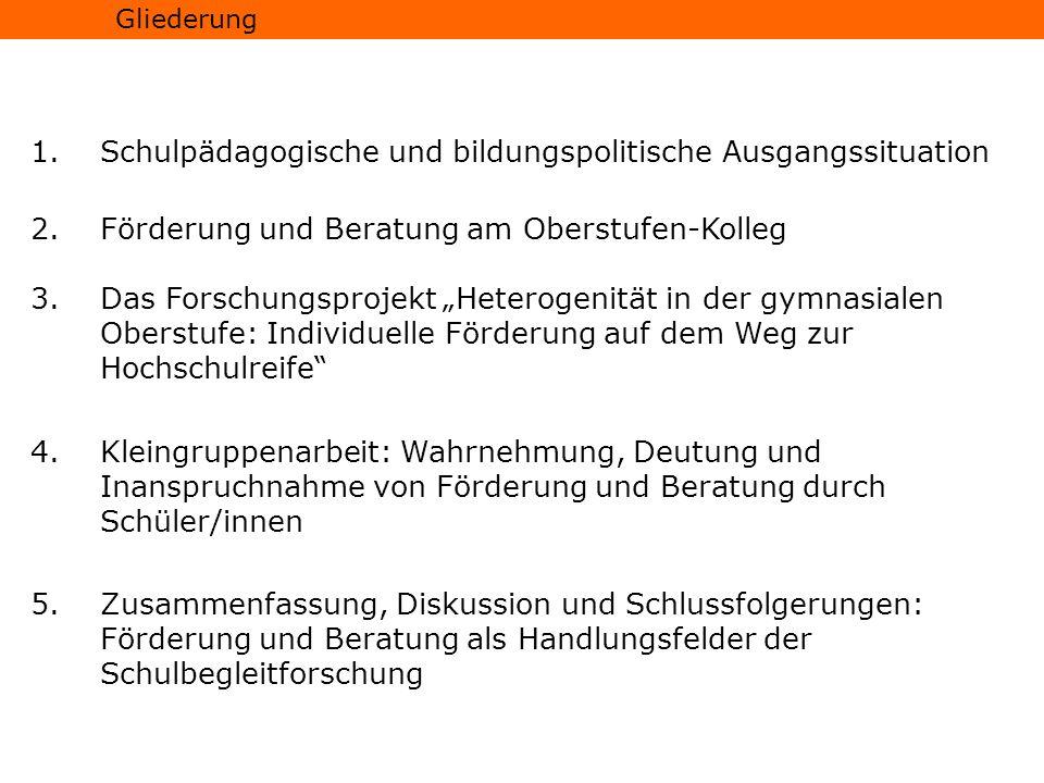 Studien zu...Durchlässigkeit bzw. Selektivität des deutschen Schulsystems (vgl.