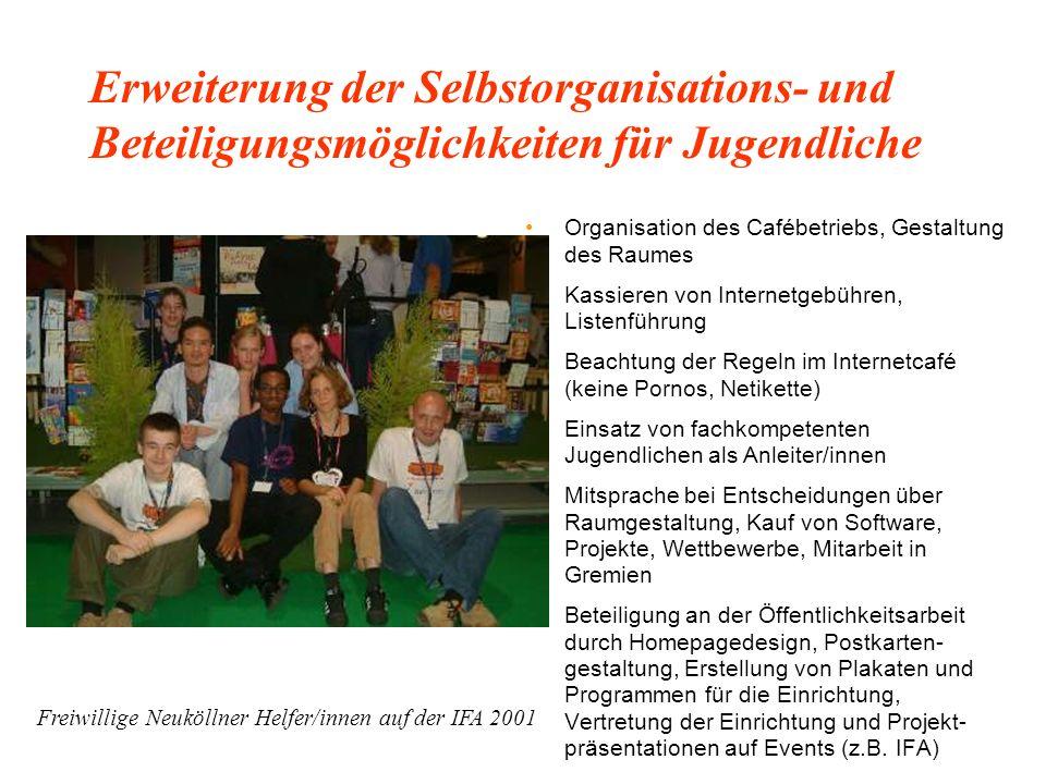 Aufbau und zweites Mega-Event / Multimediacafe bei Dr. Jetter 1999