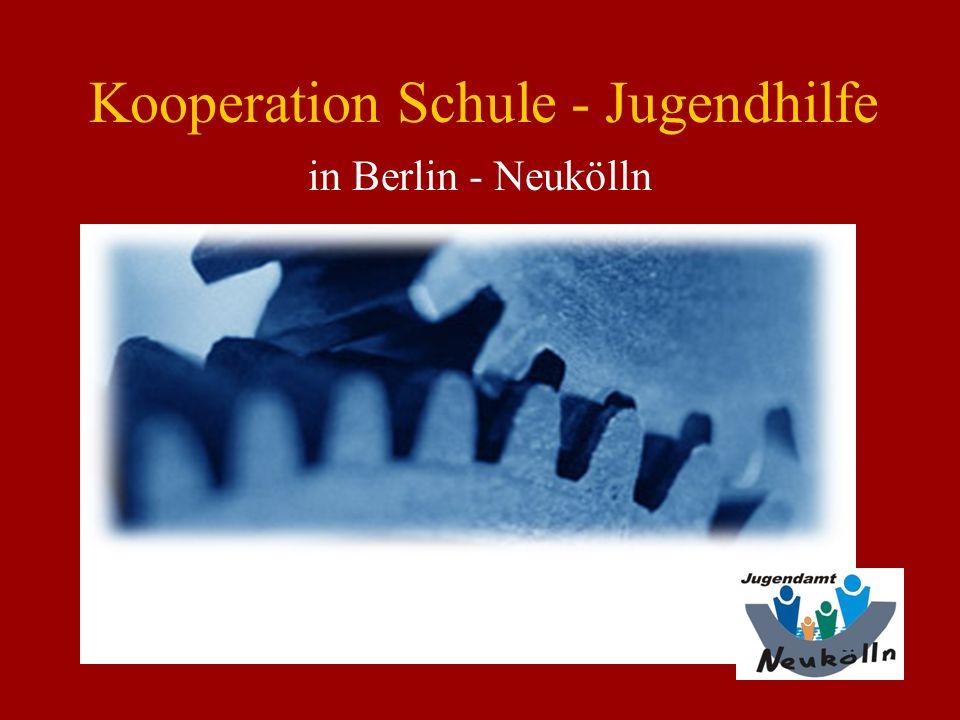 Kooperation Schule - Jugendhilfe in Berlin - Neukölln