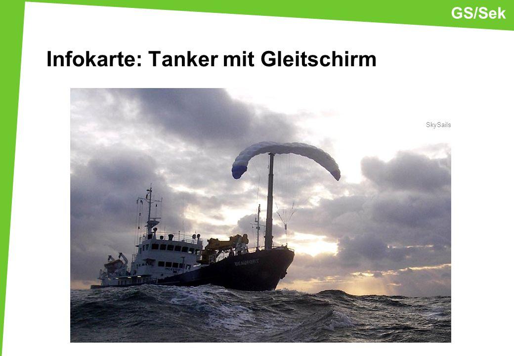 Infokarte: Tanker mit Gleitschirm SkySails GS/Sek