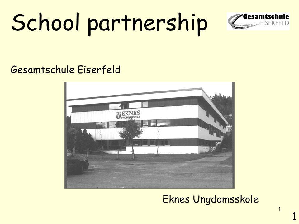 2 Öffnung von Schule nach außen, Profilbildung Wege zur Kooperation mit anderen Schulen Internationalisierung Aufbau einer Schulpartnerschaft Der Grundgedanke 2