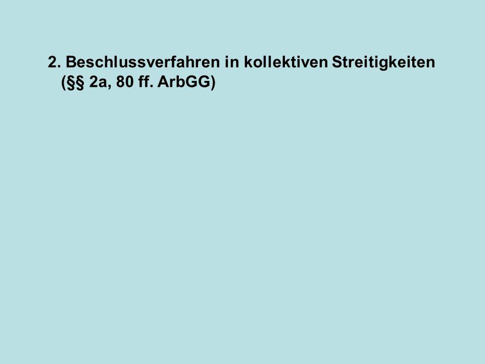 Güteverfahren obligatorisch (§ 54 ArbGG).(Vgl.
