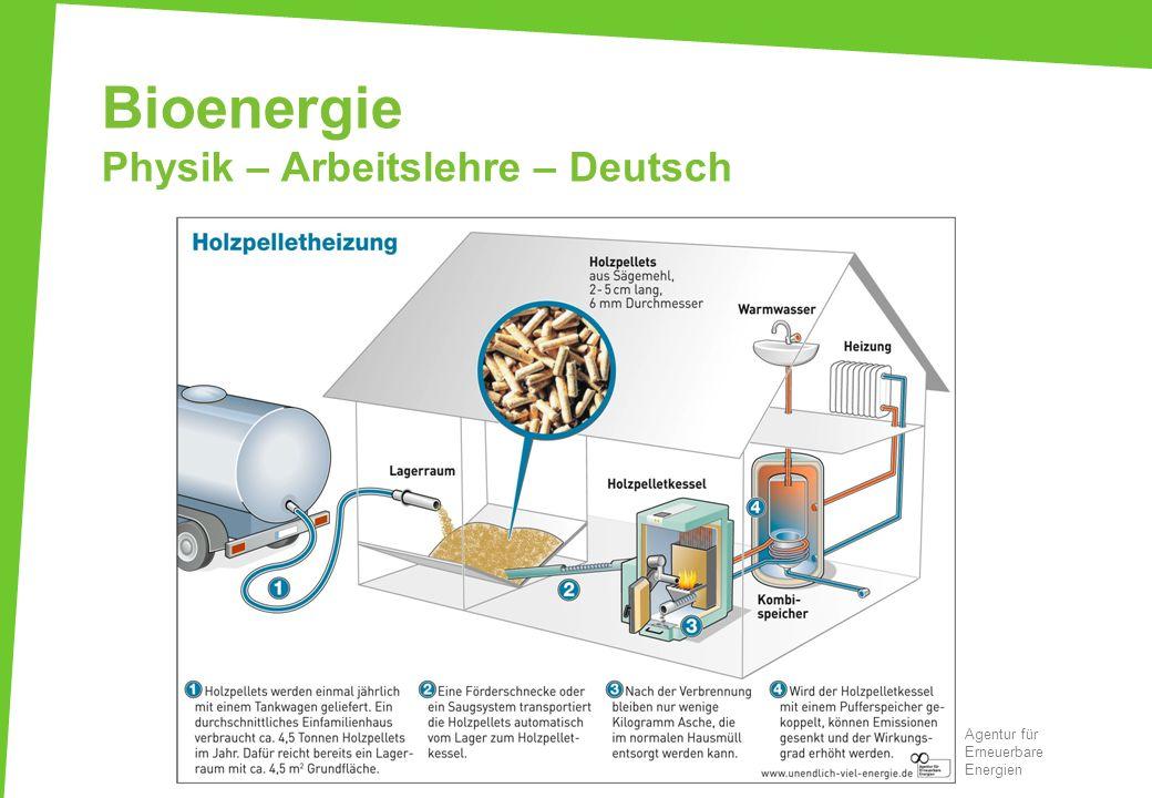 Bioenergie Physik – Arbeitslehre – Deutsch Agentur für Erneuerbare Energien