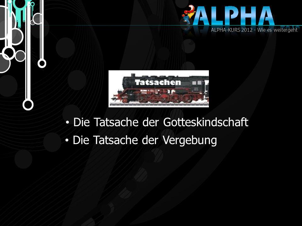 ALPHA-KURS 2012 - Wie es weitergeht Gottesdienst
