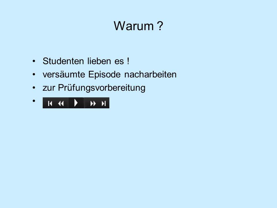 Learning Management System https://studip.rz.uos.de/meine_seminare.php