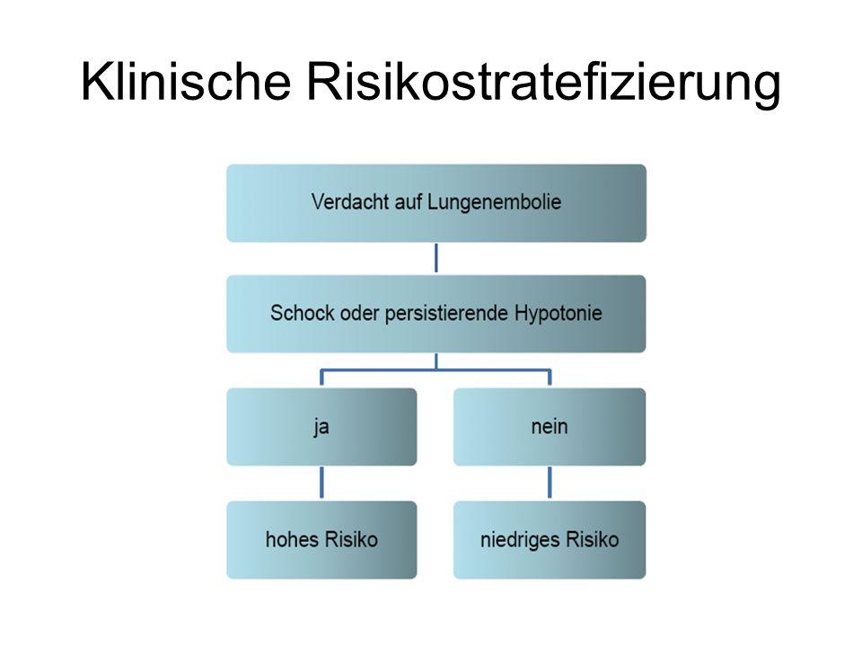 Klinische Risikostratefizierung