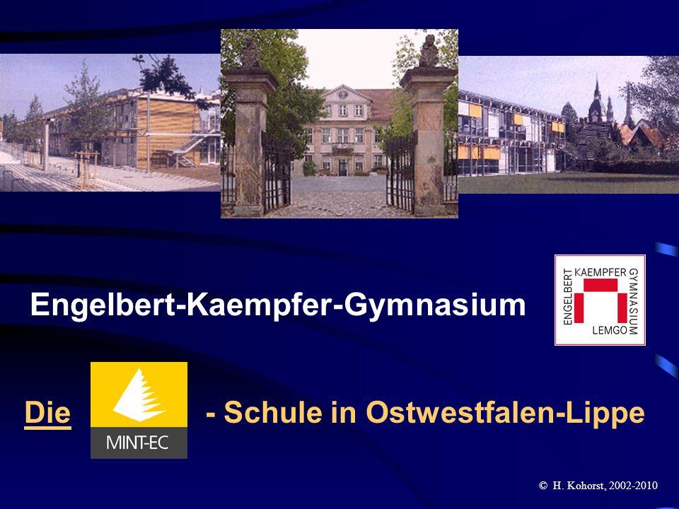Engelbert-Kaempfer-Gymnasium Die - Schule in Ostwestfalen-Lippe © H. Kohorst, 2002-2010