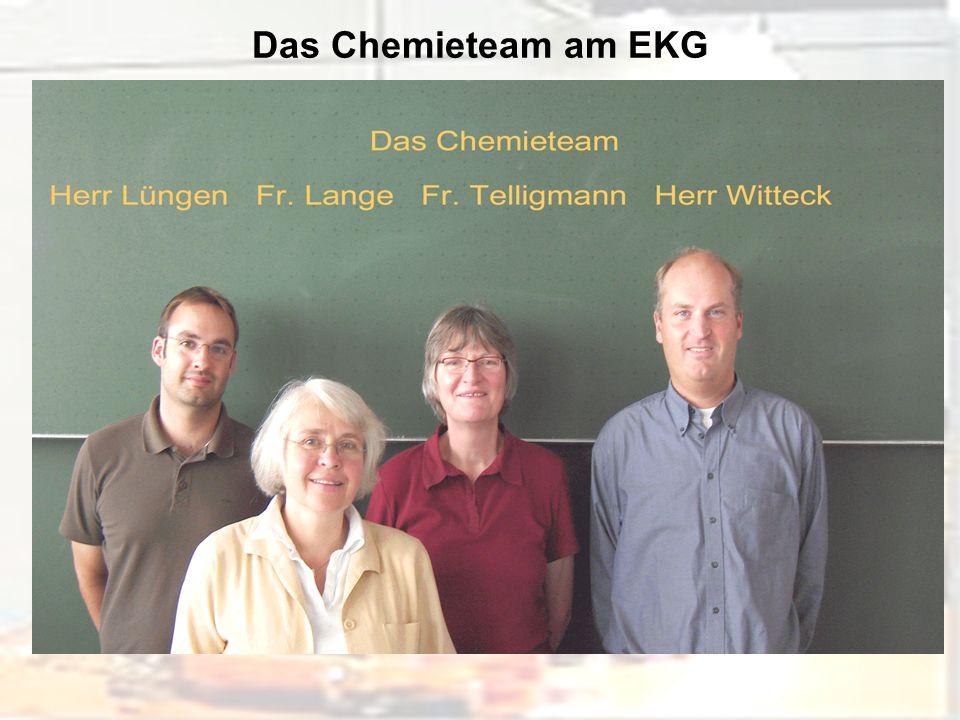 Das Chemieteam am EKG