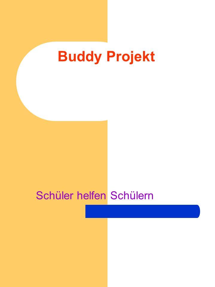 Buddy Projekt Schüler helfen Schülern