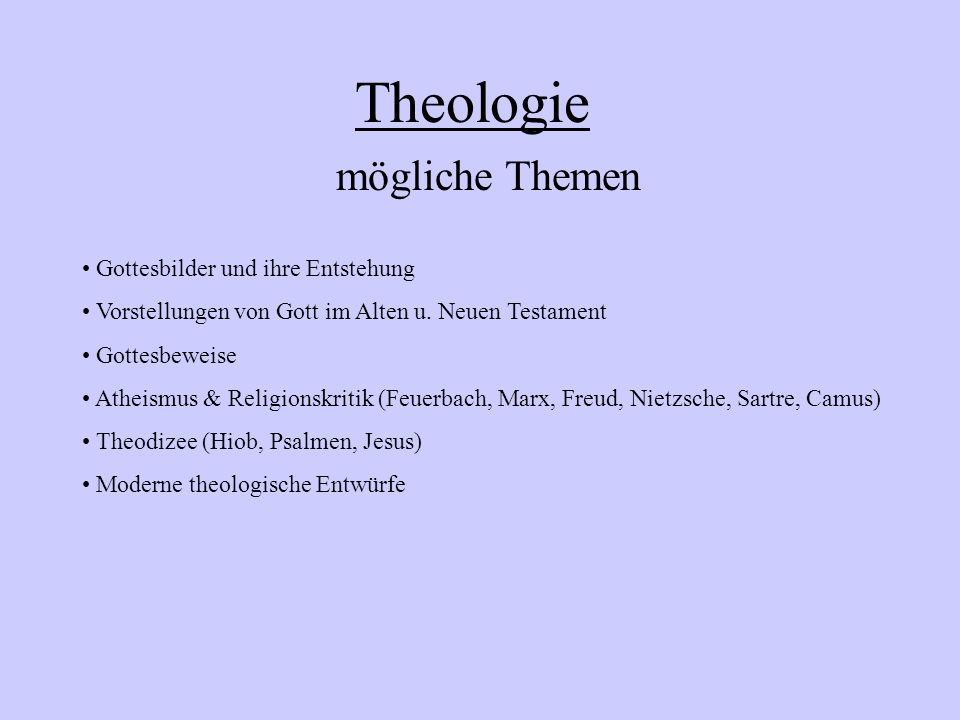 Schulinterner Lehrplan EKG Sek.II 13/1: Gotteslehre (Theologie)