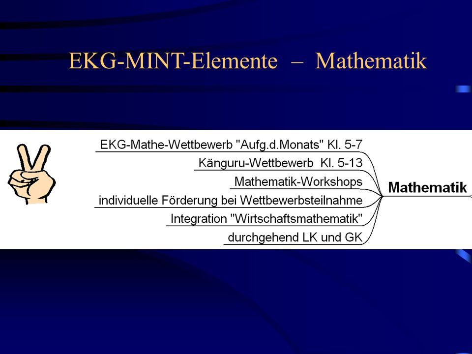 EKG-MINT-Elemente – Mathematik