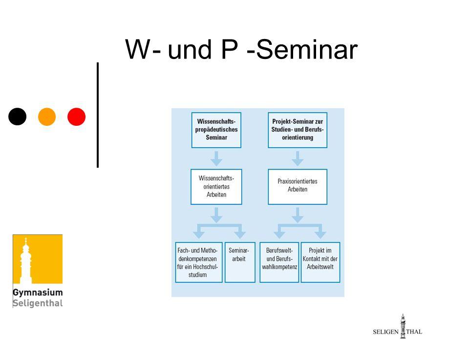 W- und P -Seminar