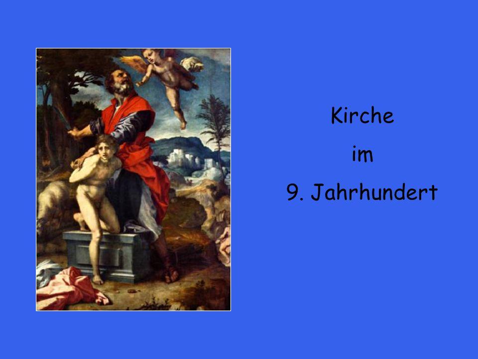 814 – 840: Regierungszeit Ludwig des Frommen 843 – 876: Regierungszeit Ludwig des Deutschen 843: Vertrag von Verdun: Teilung der Herrschaft nach fränkischem Erbrecht.