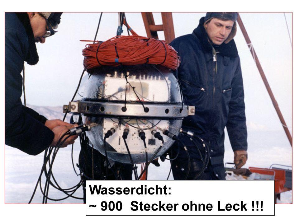 - 8 strings -192 optische Module - Zeuthen: 2 N 2 -Laser DAQ in Uferstation Div. Elektronik Ersatzteil-Käufe Finanz-Unterstützung