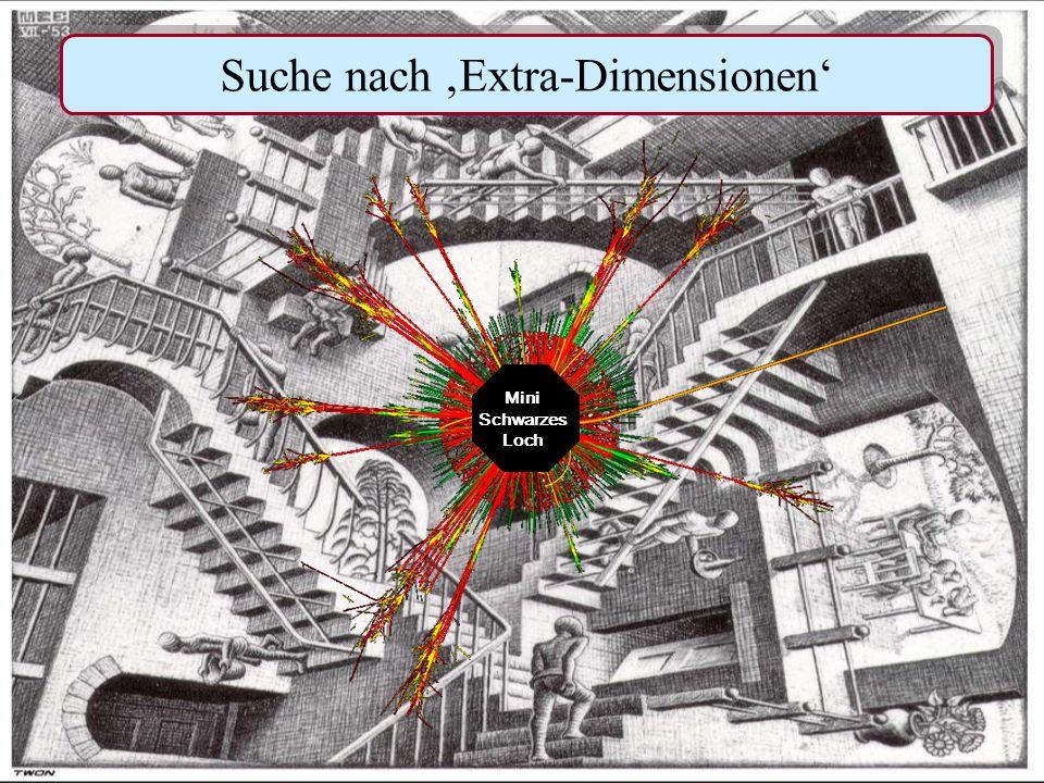 H.Kolanoski, Welt der kleinsten Teilchen - Lange Nacht24 9.Juni 2007 Large Hadron Collider im CERN/Genf ATLAS detector Suche nach nach Supersymmetrie