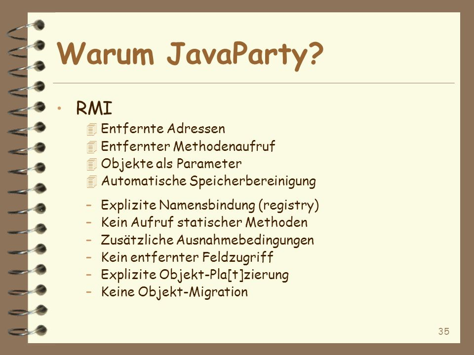 35 Warum JavaParty.