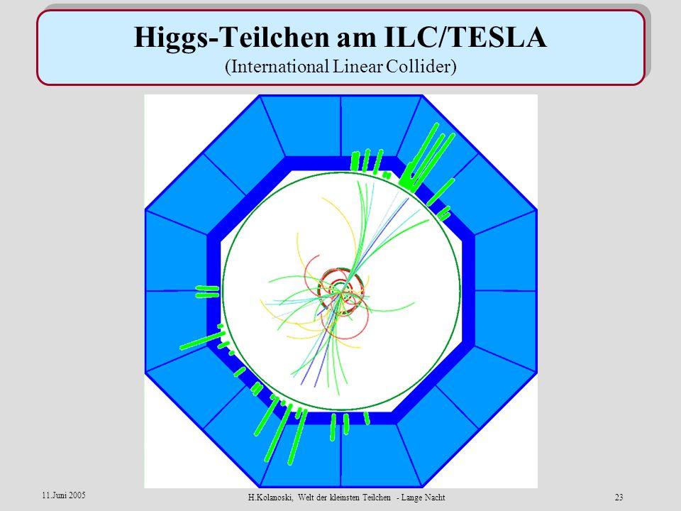H.Kolanoski, Welt der kleinsten Teilchen - Lange Nacht22 11.Juni 2005 LHC im CERN/Genf ATLAS detector