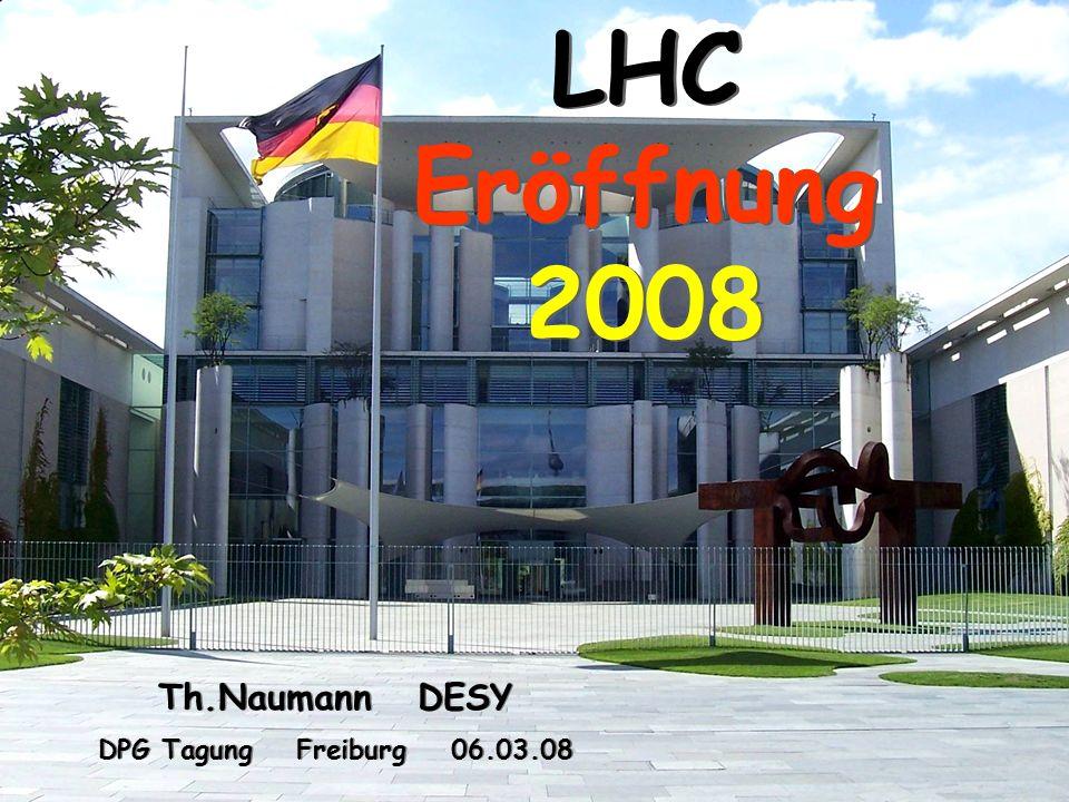 12 Th. Naumann DESY DPG Tagung Freiburg 06.03.08