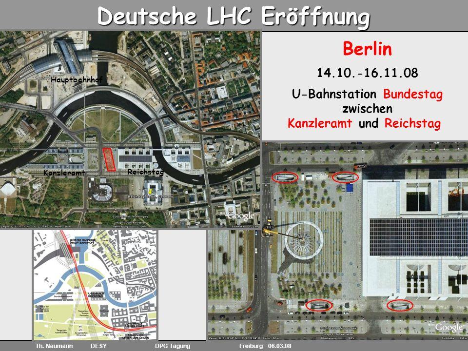 19 Th. Naumann DESY DPG Tagung Freiburg 06.03.08 S&F: erste Ideen