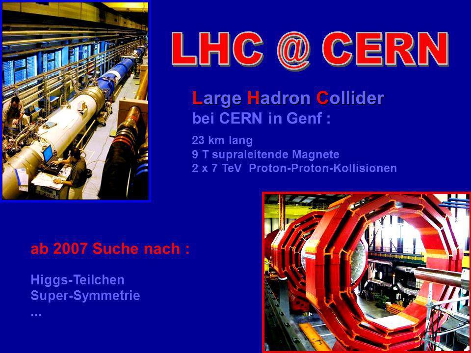 Universität Leipzig Kolloquium 8 Juni 04 70 CERN LHC