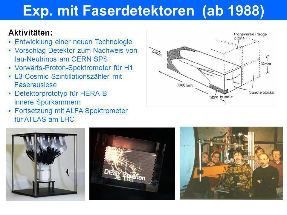 PITZ (ab 2000) Ziel: Entwicklung u, Optimierung von Elektronenquellen für FLASH, XFEL 2000: Start Bauarbeiten 13.1.2002: 1.
