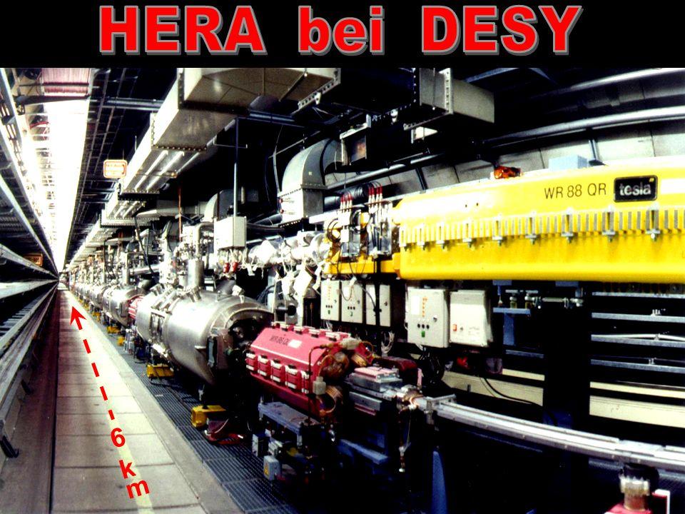 Elektronen 27.6 GeV Protonen 920 GeV