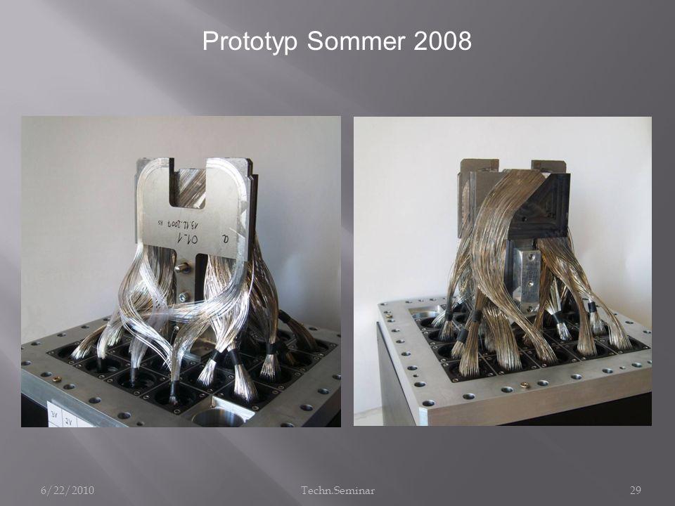 Prototyp Sommer 2008 6/22/201029Techn.Seminar