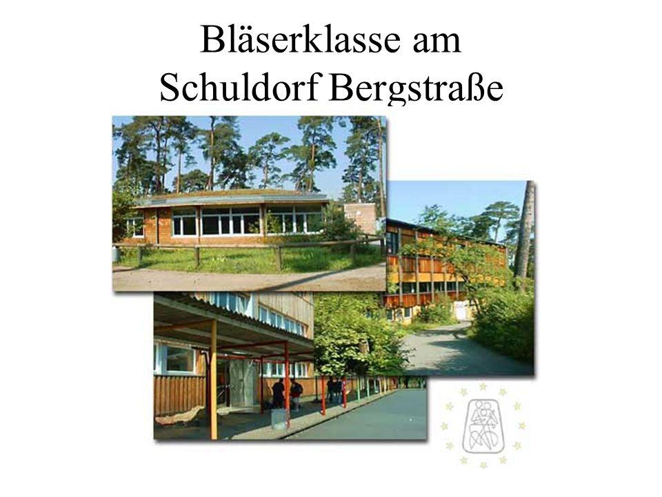 Bläserklasse am Schuldorf Bergstraße