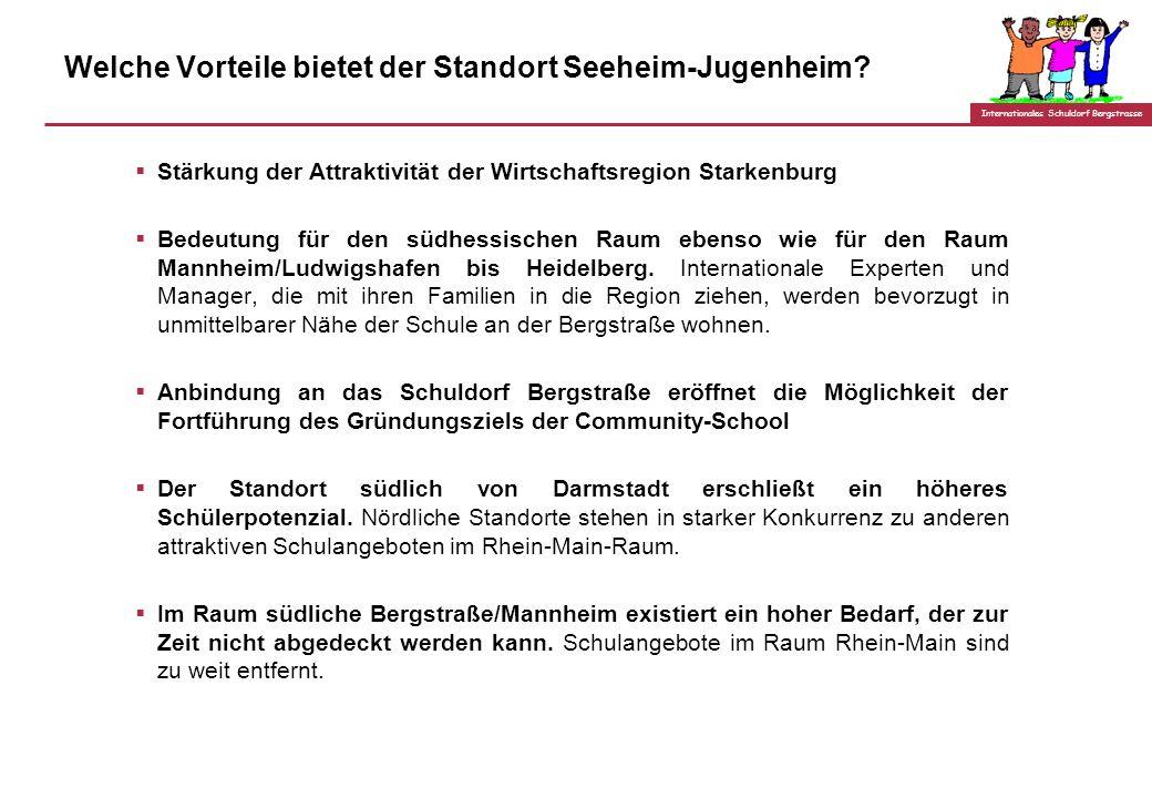 Internationales Schuldorf Bergstrasse Was wir anders machen: Unterschiede zur deutschen Auslands- bzw. Begegnungsschule: Keine Ausrichtung an den Stat