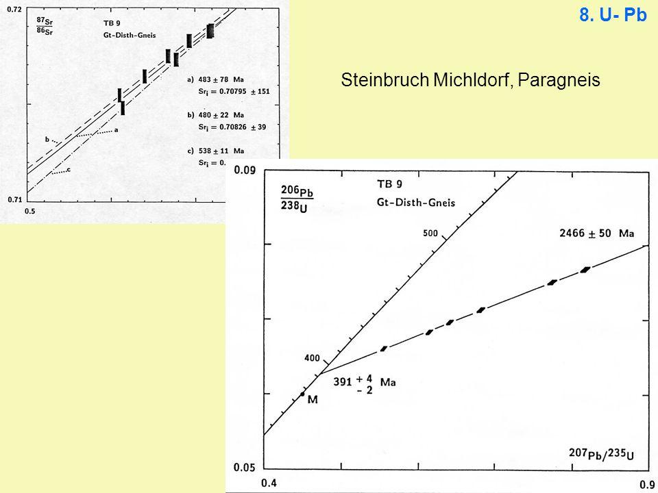 Steinbruch Michldorf, Paragneis
