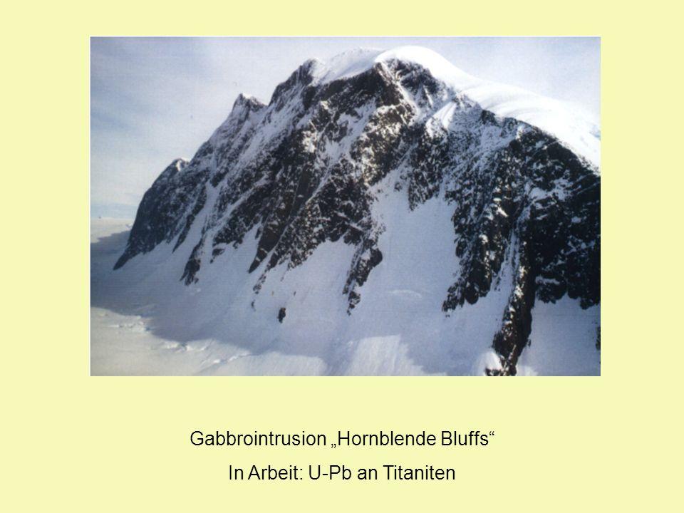 Gabbrointrusion Hornblende Bluffs In Arbeit: U-Pb an Titaniten