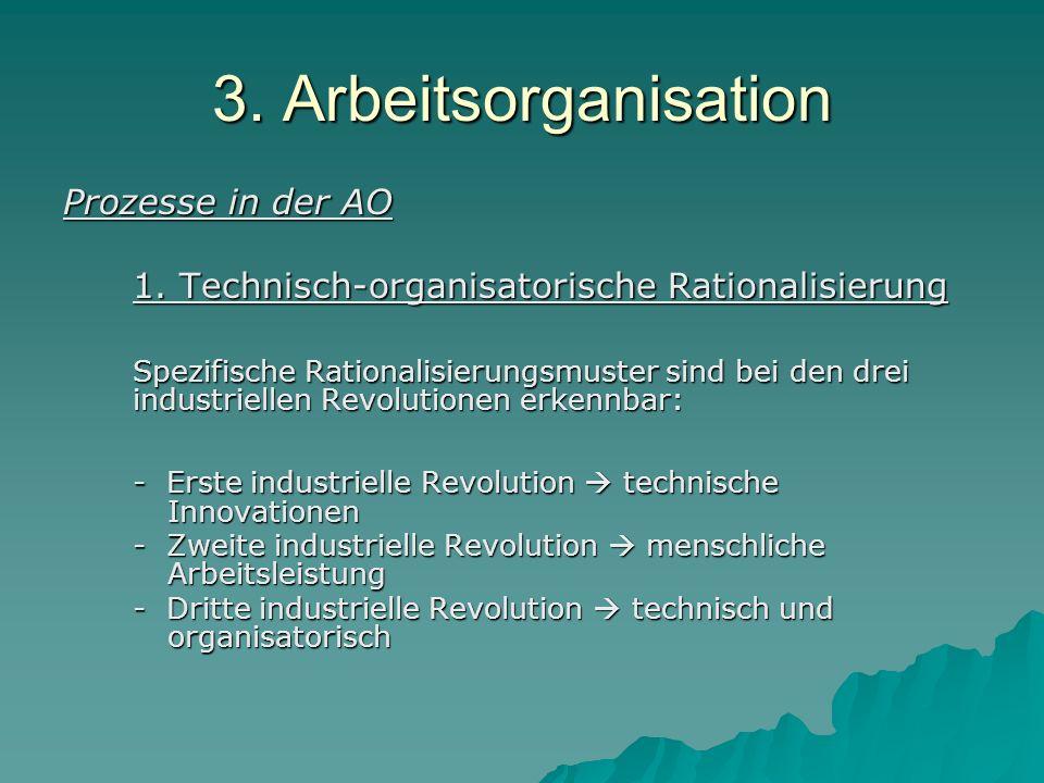 3.Arbeitsorganisation Wissenschaftliche Betriebsführung ( F.W.