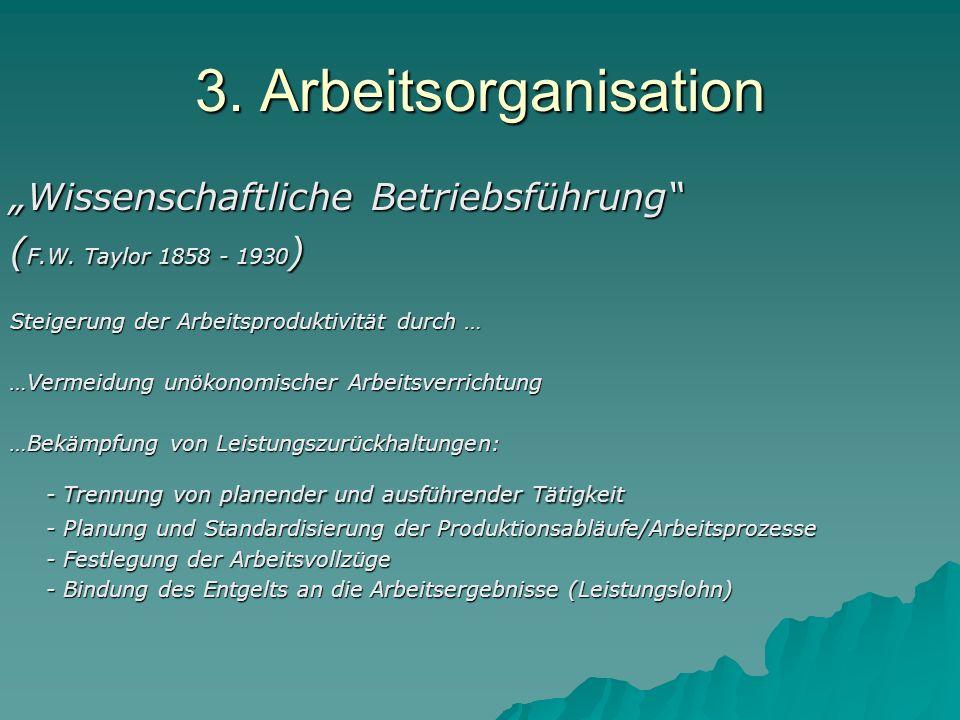 3.Arbeitsorganisation Fließbandfertigung (H.