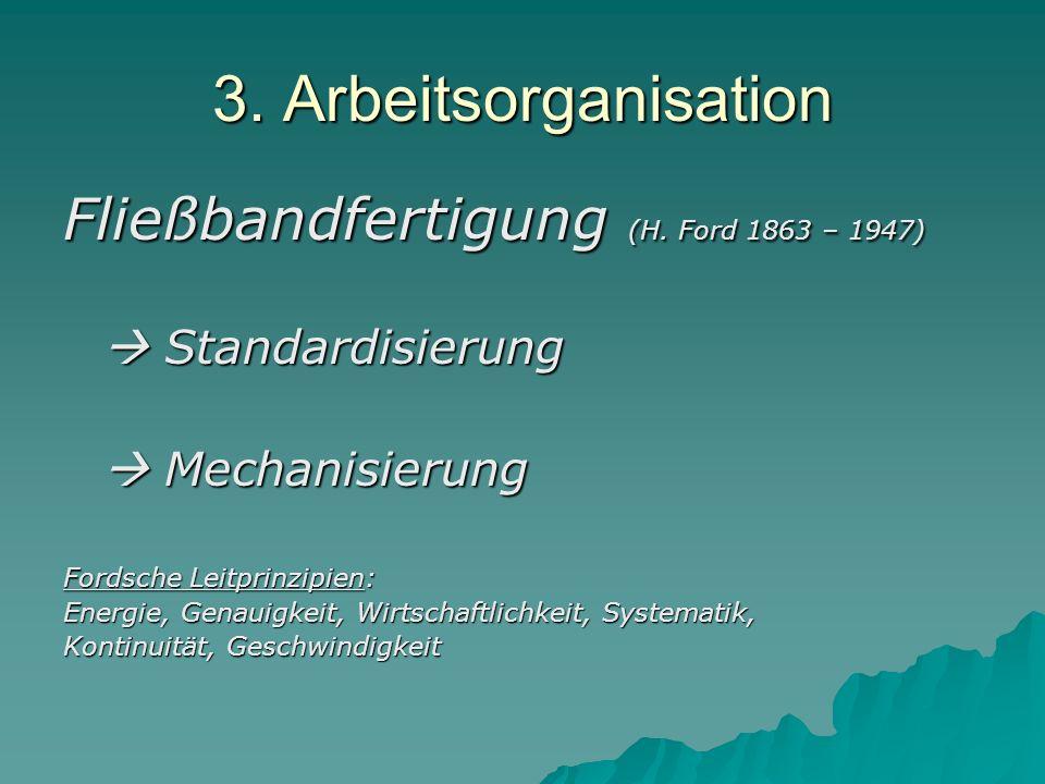 3.Arbeitsorganisation 2.