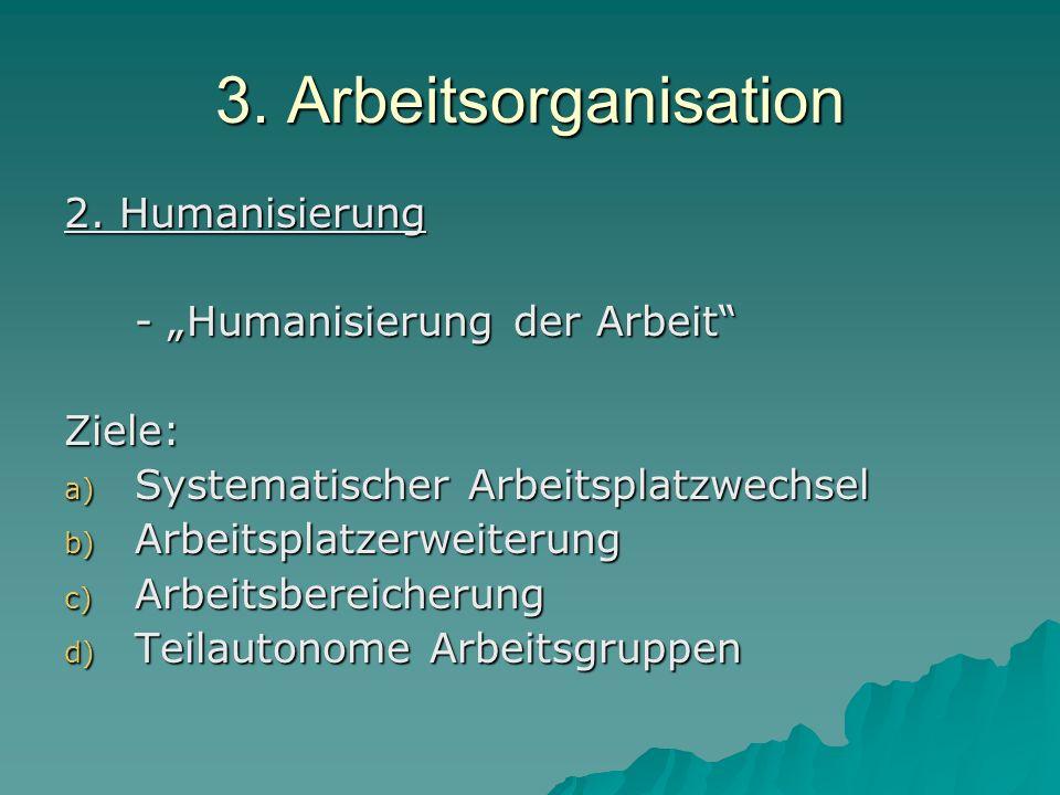 3.Arbeitsorganisation 3.