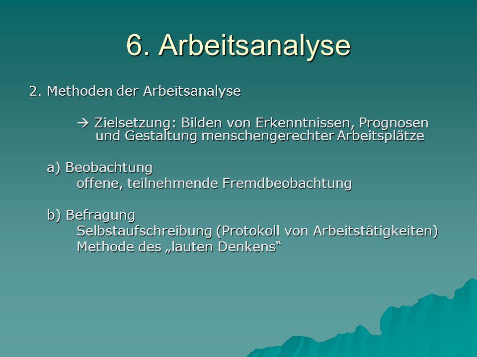 6.Arbeitsanalyse c) Physiologische Messtechnik z.B.