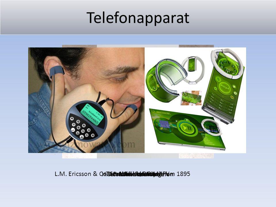 Telefonapparat Historisches Wandtelefon Fräulein vom Amt L.M. Ericsson & Co. Stockholm, Baujahr um 1895WählscheibeTastentelefon mit MFV Mobiltelefon T