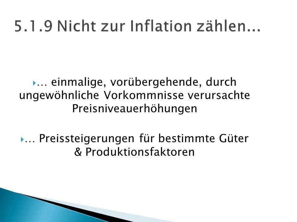 … einmalige, vorübergehende, durch ungewöhnliche Vorkommnisse verursachte Preisniveauerhöhungen … Preissteigerungen für bestimmte Güter & Produktionsf