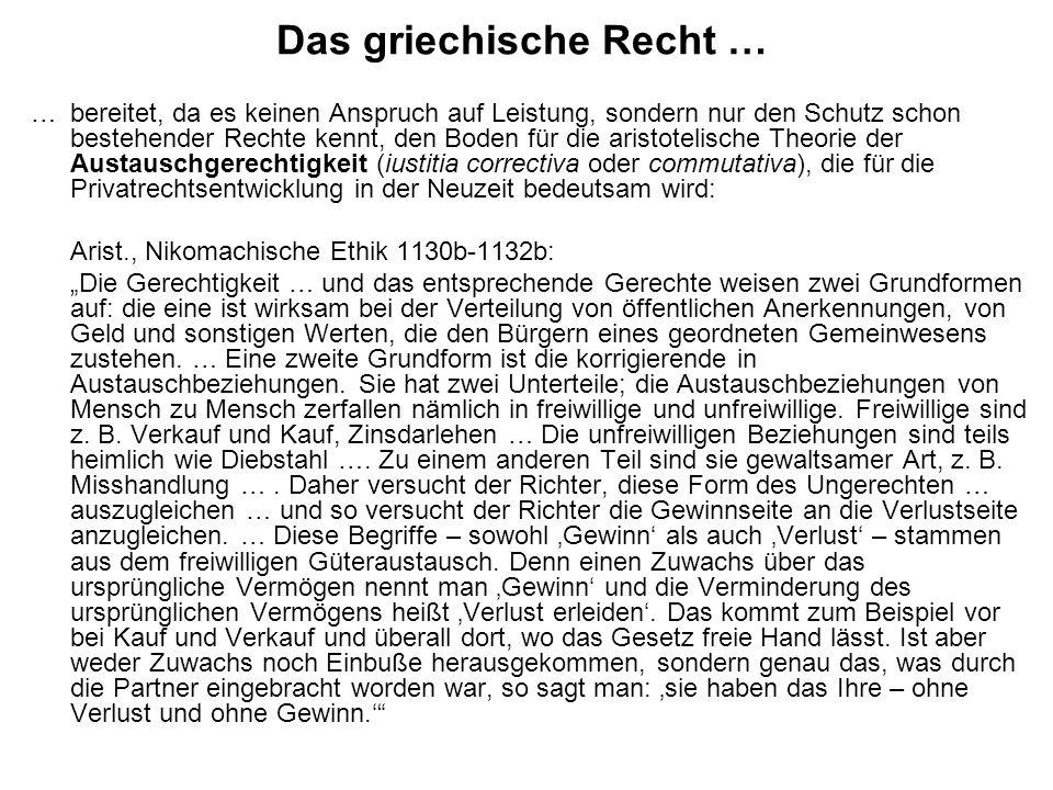 Die Verkürzungsanfechtung … … wird von den mittelalterlichen Juristen auf alle Verträge ausgedehnt und allen Parteien zugestanden, indem man die Ausnutzung einer Verkürzung über die Hälfte als Arglist (dolus) deutet, gegen die man sich bei den Klagen nach guter Treue (bona fides) ohne Weiteres, ansonsten mit Hilfe der Arglisteinrede (exceptio doli) wehren kann: Placentinus, Summa Codicis, zu CJ 4.44 Iudicis officio venditio rescinditur, puta si venditor ultra dimidiam iusti pretii deceptus fuerit.
